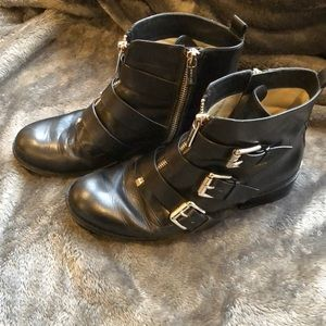 Michael Kors ankle boots with side zip